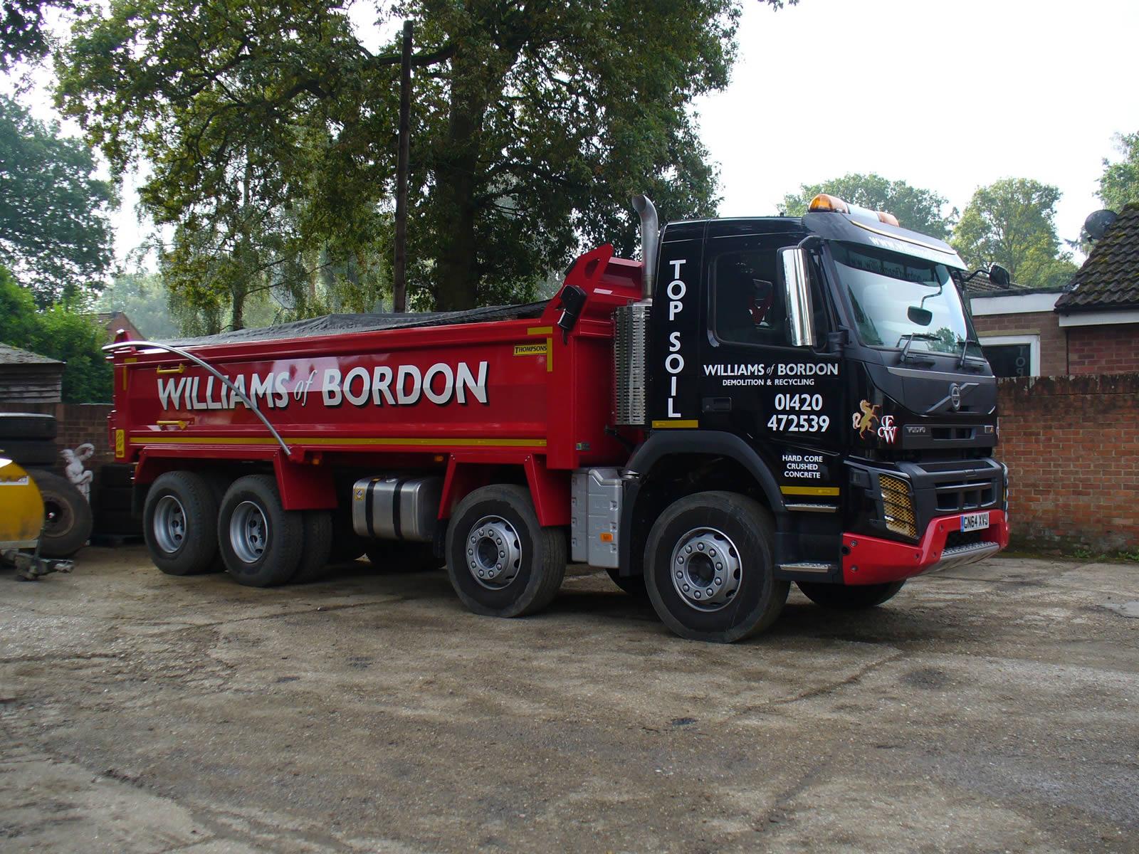 Tipper Truck Hire Hampshire